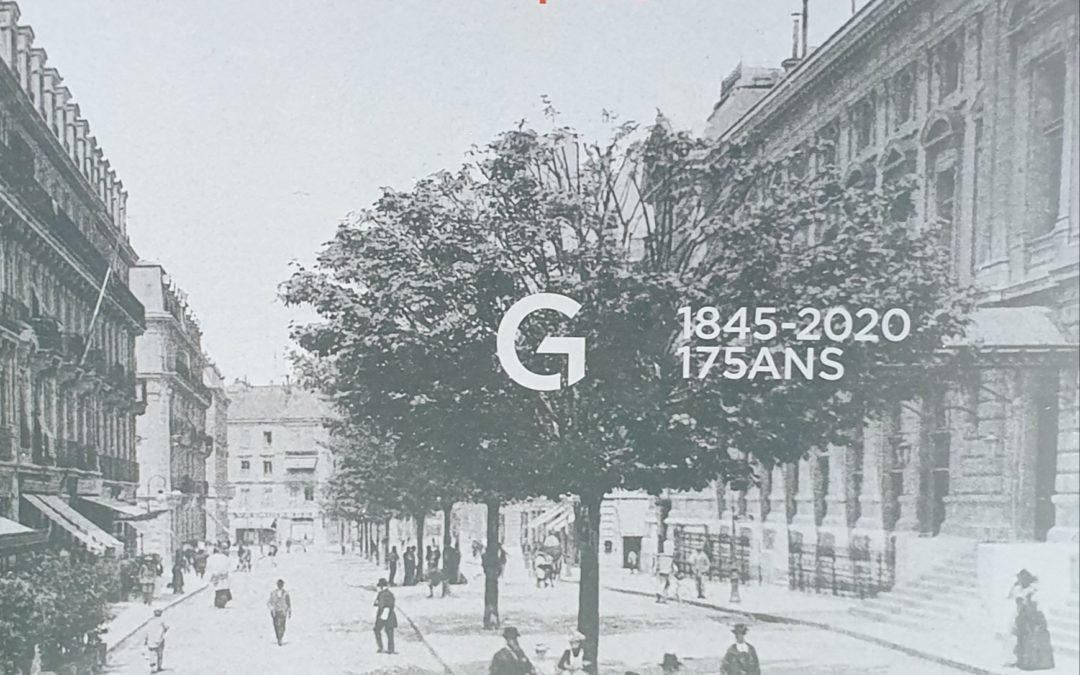 """""""Les Gonet, une dynastie de banquiers. 1845-2020 175 ans"""" paru chez Gonet SA en 2020"""